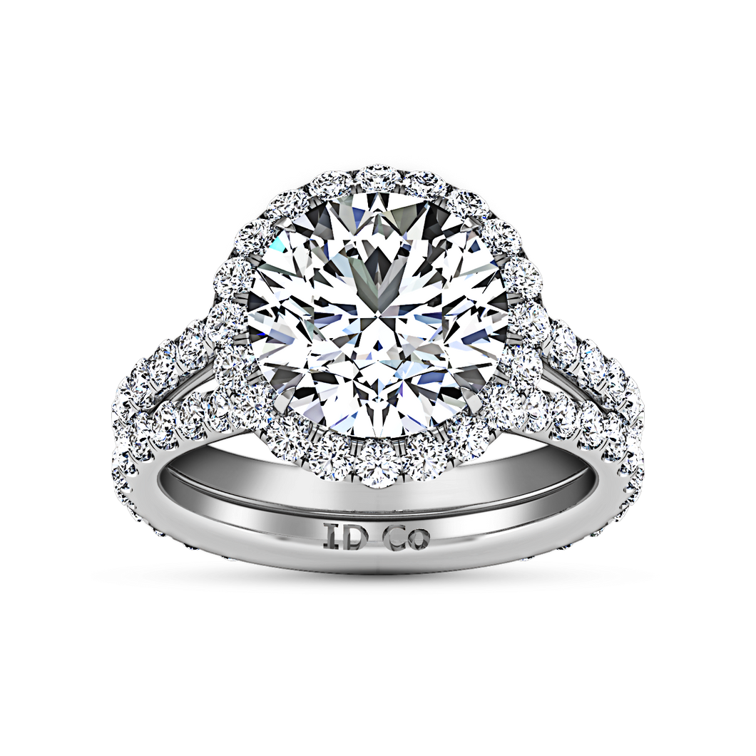 Halo Engagement Ring Emotion
