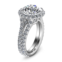 Load image into Gallery viewer, Halo Engagement Ring Emotion