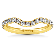 Load image into Gallery viewer, Diamond Wedding Band Emotion