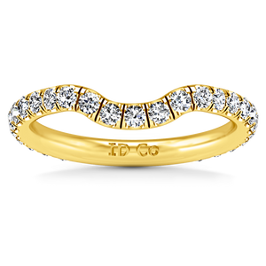 Diamond Wedding Band Emotion