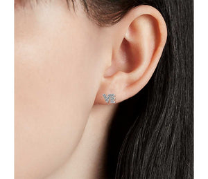 LO VE Mismatch Diamond Stud Earring