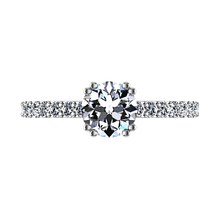 Load image into Gallery viewer, Pave Engagement Ring Michelle