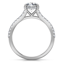 Load image into Gallery viewer, Pave Engagement Ring Fantasia
