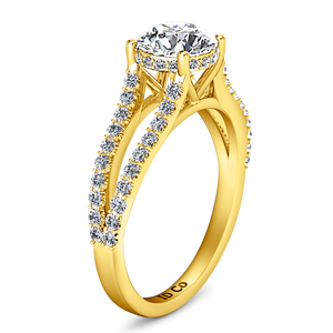 Pave Engagement Ring Fantasia