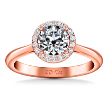 Load image into Gallery viewer, Halo Engagement Ring Etoile