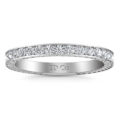 Diamond Wedding Band Arabesque