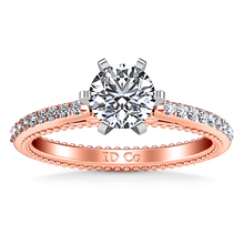 Load image into Gallery viewer, Pave Engagement Ring Embrace