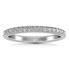 Load image into Gallery viewer, Diamond Wedding Band Embrace