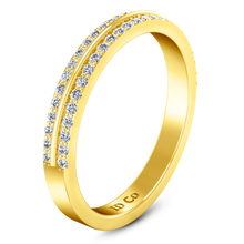 Load image into Gallery viewer, Diamond Wedding Band Amanda