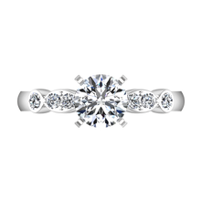 Load image into Gallery viewer, Pave Engagement Ring Rachel