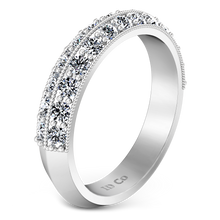 Load image into Gallery viewer, Diamond Wedding Band Amore
