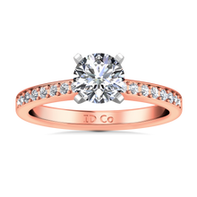 Load image into Gallery viewer, Pave Engagement Ring Belle