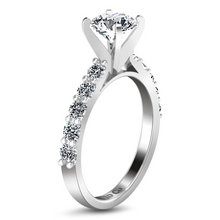 Load image into Gallery viewer, Pave Engagement Ring Cherish