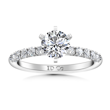 Load image into Gallery viewer, Pave Engagement Ring Grace