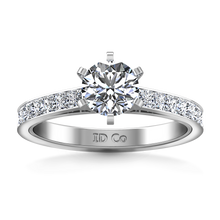Load image into Gallery viewer, Pave Engagement Ring Calla