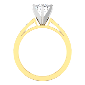 Pave Engagement Ring Calla