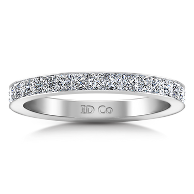 Diamond Wedding Band Calla