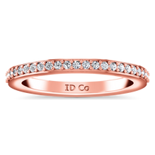 Load image into Gallery viewer, Diamond Wedding Band Ashley