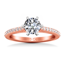 Load image into Gallery viewer, Pave Engagement Ring Juliette