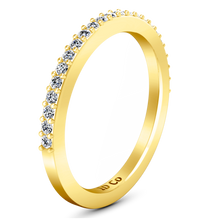 Load image into Gallery viewer, Diamond Wedding Band Juliette