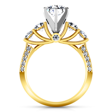 Load image into Gallery viewer, Pave Engagement Ring Regal