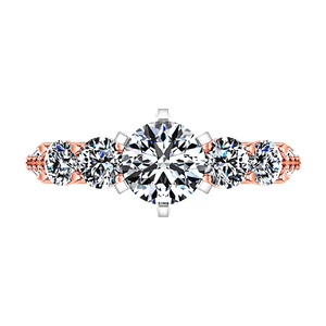 Pave Engagement Ring Regal