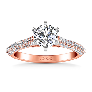Pave Engagement Ring Royal