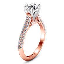 Load image into Gallery viewer, Pave Engagement Ring Royal