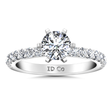 Load image into Gallery viewer, Pave Engagement Ring Lauren
