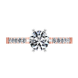Pave Engagement Ring Lauren
