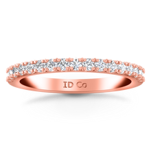 Load image into Gallery viewer, Diamond Wedding Band Beth