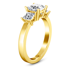Load image into Gallery viewer, Three Stone Engagement Ring Alana