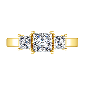 Three Stone Engagement Ring Alana
