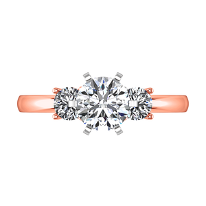 Three Stone Engagement Ring Talia