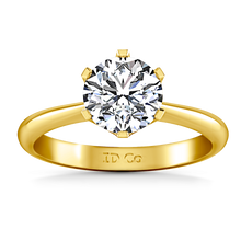 Load image into Gallery viewer, Solitaire Engagement Ring Tresa