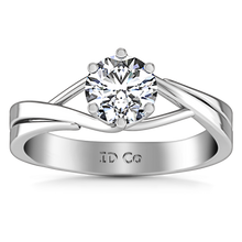 Load image into Gallery viewer, Solitaire Engagement Ring Wisteria