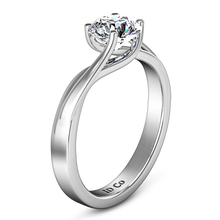 Load image into Gallery viewer, Solitaire Engagement Ring Laurel