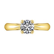 Load image into Gallery viewer, Solitaire Engagement Ring Caressa