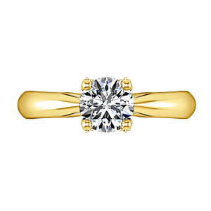 Solitaire Engagement Ring Caressa