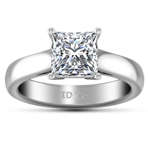 Solitaire Princess Cut Engagement Ring Angie