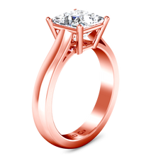 Load image into Gallery viewer, Solitaire Princess Cut Engagement Ring Angie