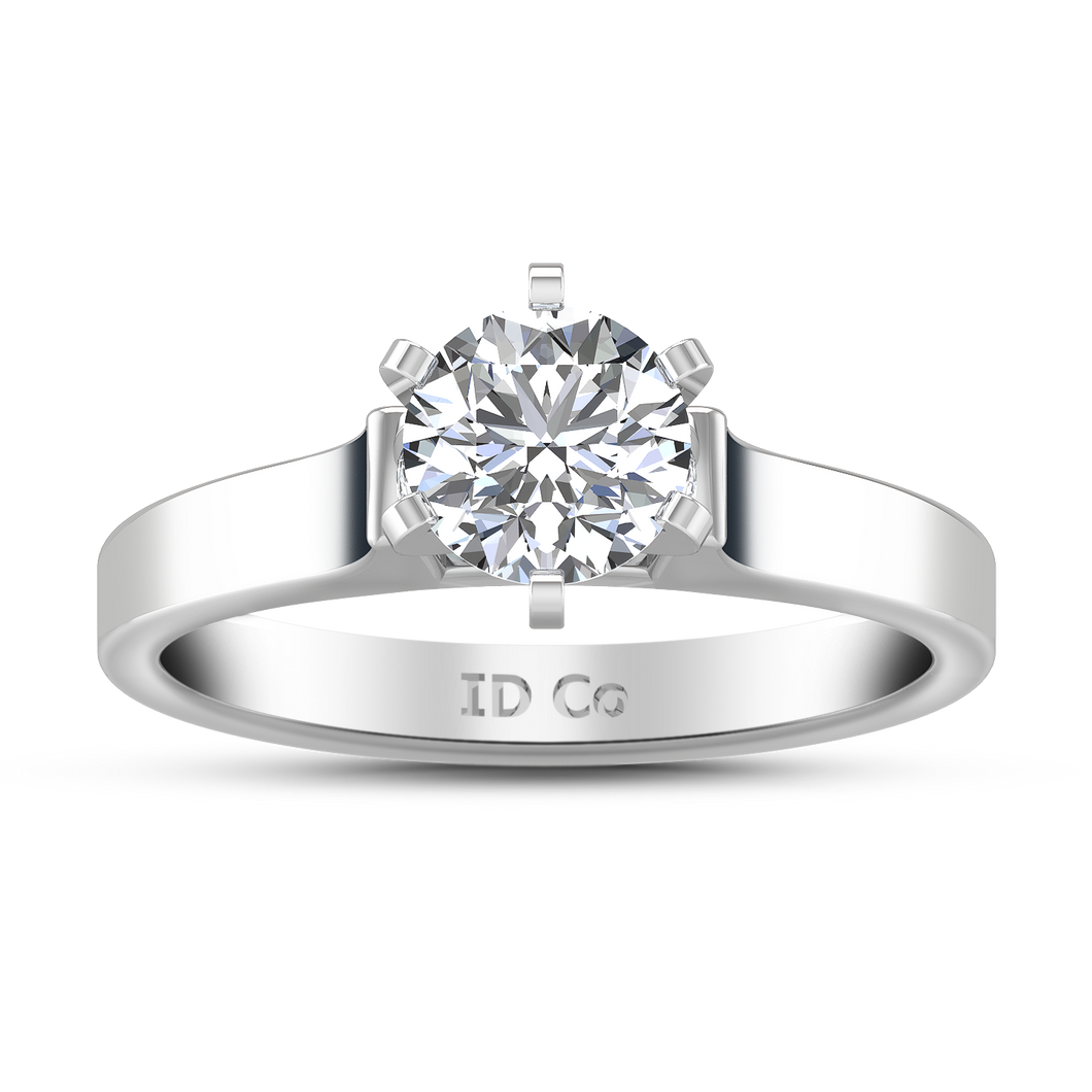 Solitaire Engagement Ring Modern