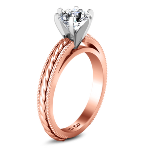 Solitaire Engagement Ring Janet