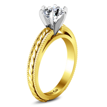 Load image into Gallery viewer, Solitaire Engagement Ring Janet