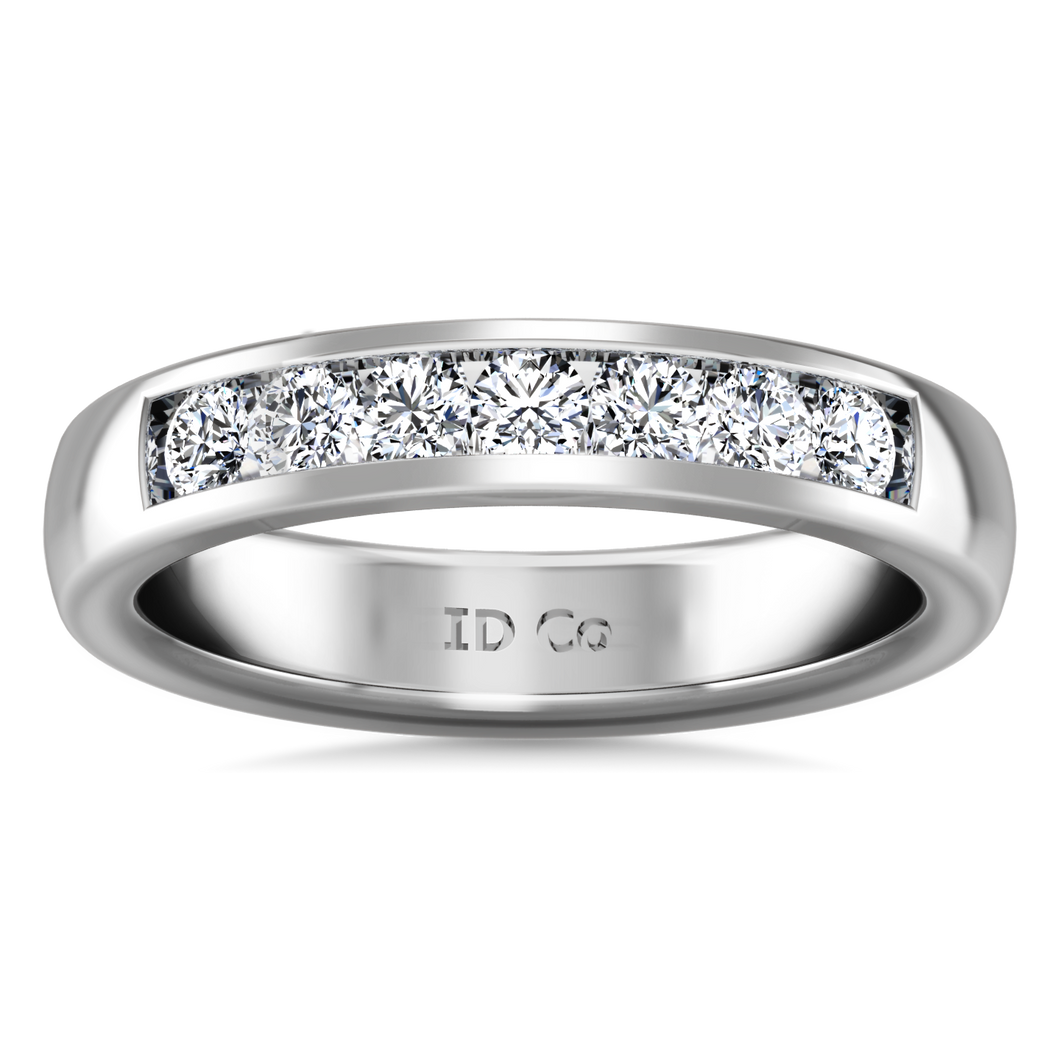 Diamond Wedding Band Hudson