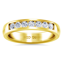 Load image into Gallery viewer, Diamond Wedding Band Hudson