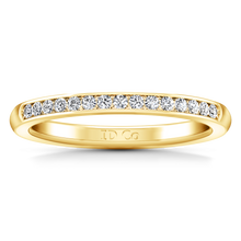 Load image into Gallery viewer, Diamond Wedding Band Erin