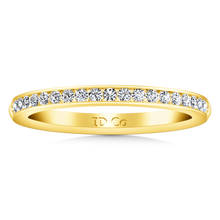 Load image into Gallery viewer, Diamond Wedding Band Alina