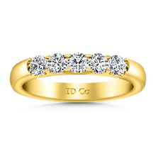 Load image into Gallery viewer, Diamond Wedding Band Hadley