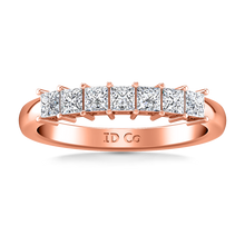 Load image into Gallery viewer, Diamond Wedding Band Janelle
